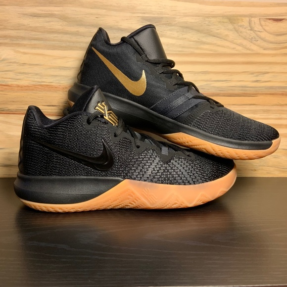 premium selection 687f0 86606 Nike Shoes | New Kyrie Irving Black Gold Basketball | Poshmark